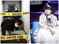Cảnh sát phong tỏa căn hộ nơi Jong Hyun (SHINee) tự sát bằng khí than