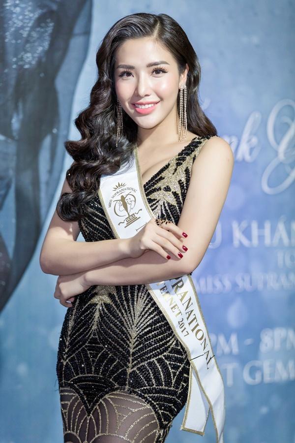 Đây là giọng hát thật của Á hậu Khánh Phương top 25 Hoa hậu Siêu quốc gia 2017-1