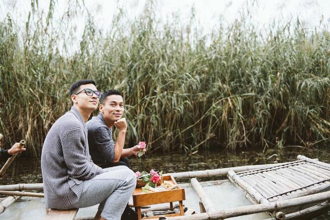 Adrian Anh Tuấn và Sơn Đoàn phải lòng vẻ đẹp Ninh Bình mùa đông-1