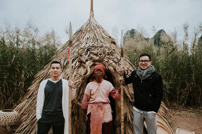 Adrian Anh Tuấn và Sơn Đoàn phải lòng vẻ đẹp Ninh Bình mùa đông-4