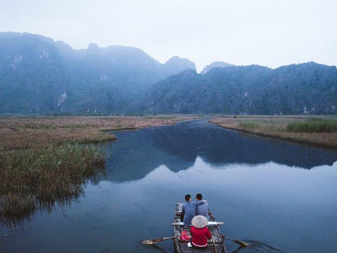 Adrian Anh Tuấn và Sơn Đoàn phải lòng vẻ đẹp Ninh Bình mùa đông-6