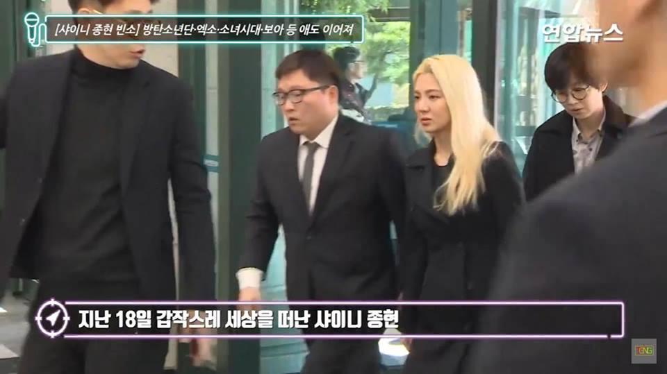 Những gương mặt thất thần của BTS, SNSD, BoA khi đến tang lễ SHINee Jonghyun-4