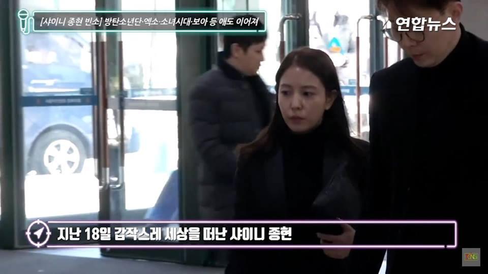 Những gương mặt thất thần của BTS, SNSD, BoA khi đến tang lễ SHINee Jonghyun-5