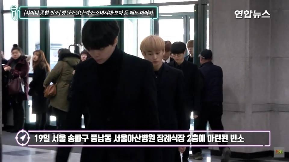 Những gương mặt thất thần của BTS, SNSD, BoA khi đến tang lễ SHINee Jonghyun-6