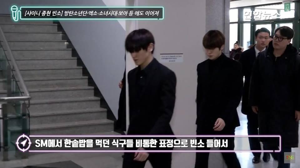 Những gương mặt thất thần của BTS, SNSD, BoA khi đến tang lễ SHINee Jonghyun-7