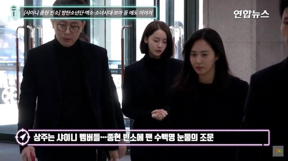 Những gương mặt thất thần của BTS, SNSD, BoA khi đến tang lễ SHINee Jonghyun-14