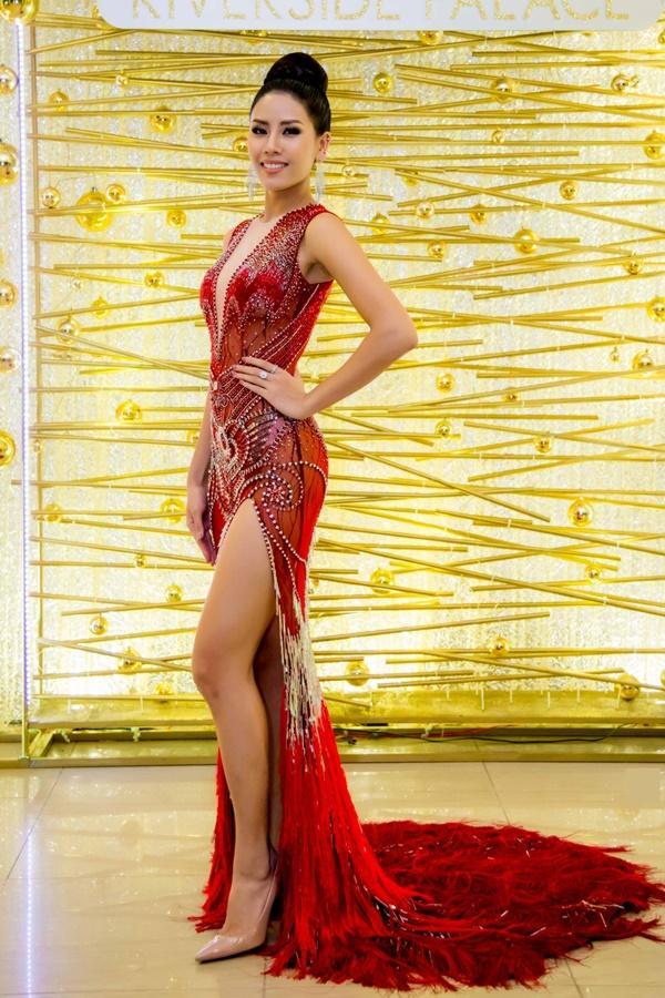 Chiêm ngưỡng tài năng mà Nguyễn Thị Loan kém may bị mất lượt tại Hoa hậu Hoàn vũ 2017-1