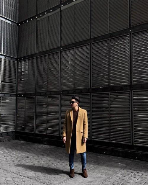 Mặc áo dạ dáng dài chuẩn trend và chất phát ngất như Hồ Ngọc Hà - Chi Pu-4