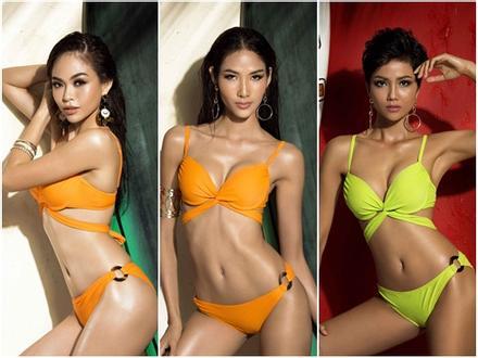 'Bỏng mắt' trước loạt ảnh bikini của dàn thí sinh Hoa hậu Hoàn Vũ Việt Nam 2017