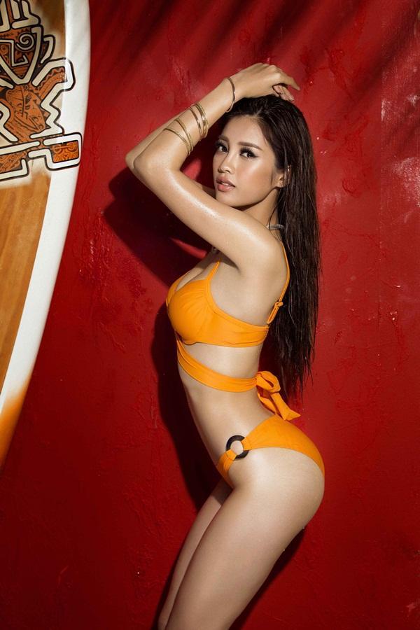 Bỏng mắt trước loạt ảnh bikini của dàn thí sinh Hoa hậu Hoàn Vũ Việt Nam 2017-4
