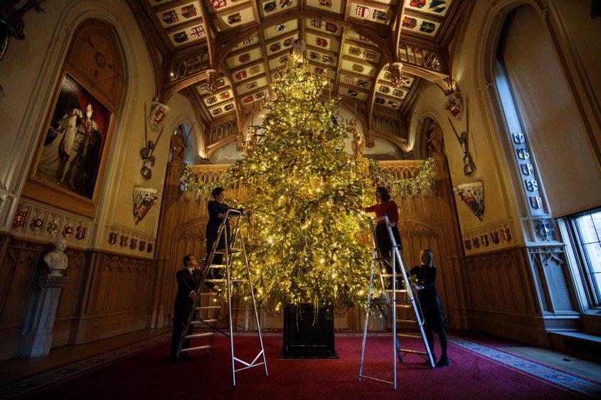 Choáng ngợp 12 cây thông Noel đẹp và khủng nhất năm 2017-5