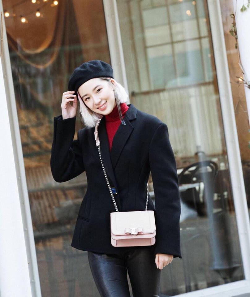 Dàn mỹ nhân Hàn tô đậm không khí Giáng sinh bằng street style sắc màu rực rỡ-2