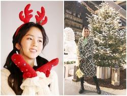 Dàn mỹ nhân Hàn tô đậm không khí Giáng sinh bằng street style sắc màu rực rỡ