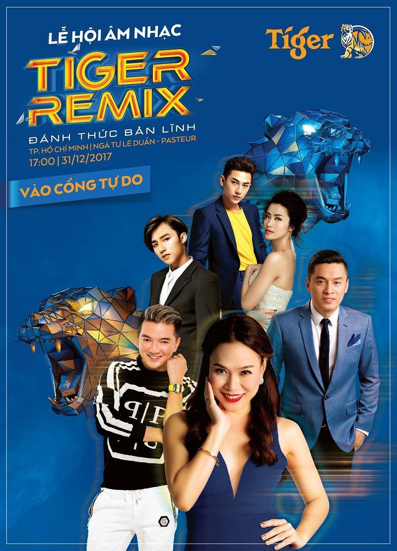 Dàn sao khủng hội tụ tại Tiger Remix 2018-1