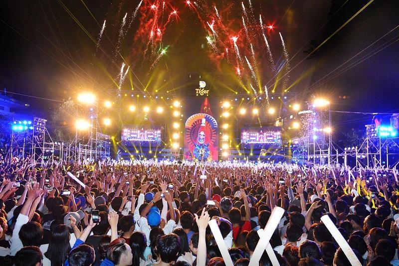 Dàn sao khủng hội tụ tại Tiger Remix 2018-3