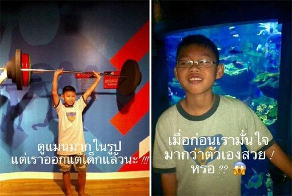 Hot girl Thái khiến cả cộng đồng mạng sững sờ khi công khai hình ảnh thời thơ ấu-3