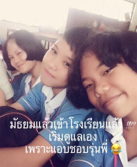 Hot girl Thái khiến cả cộng đồng mạng sững sờ khi công khai hình ảnh thời thơ ấu-5
