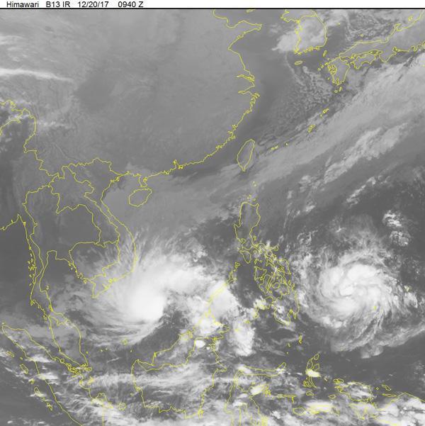 Tin bão số 15: Bão kết hợp với không khí lạnh gây sóng cao 5-6m ở vùng biển phía Nam-1