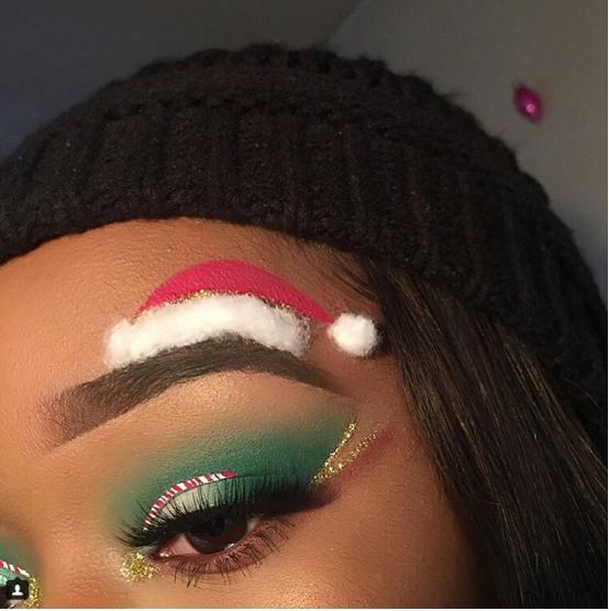 Giáng sinh nổi bần bật với muôn kiểu lông mày chuẩn xu hướng-5