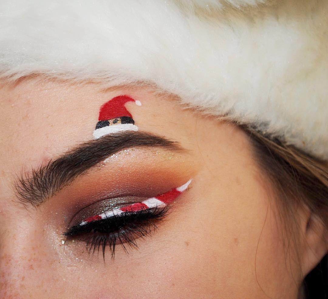 Giáng sinh nổi bần bật với muôn kiểu lông mày chuẩn xu hướng-4