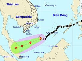 Bão số 15 suy yếu, xuất hiện bão mới hướng vào Biển Đông