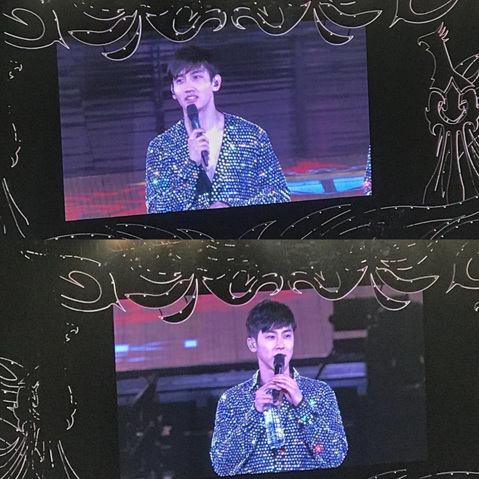 Phải hoàn thành lịch trình sau khi Jonghyun ra đi, Suho và DBSK rơi nước mắt trên sân khấu-1