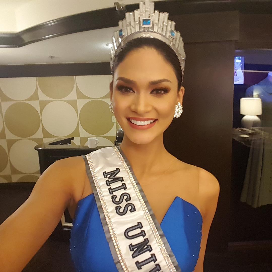 BẤT NGỜ: Sau thời gian ngủ đông, scandal trao nhầm vương miện Hoa hậu Hoàn vũ 2015 lại bùng phát-1