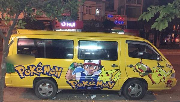 9X Phú Yên mê Pokemon đến mức dán kín xe khiến cộng đồng mạng thích thú-2