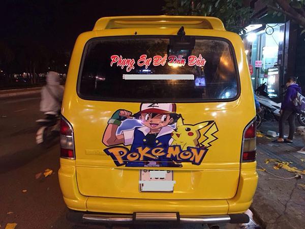 9X Phú Yên mê Pokemon đến mức dán kín xe khiến cộng đồng mạng thích thú-5