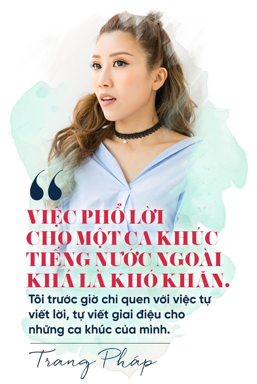 Trang Pháp lần đầu mở lời về loạt ca khúc viết lời Việt cho Chi Pu bị coi là thảm họa âm nhạc-5