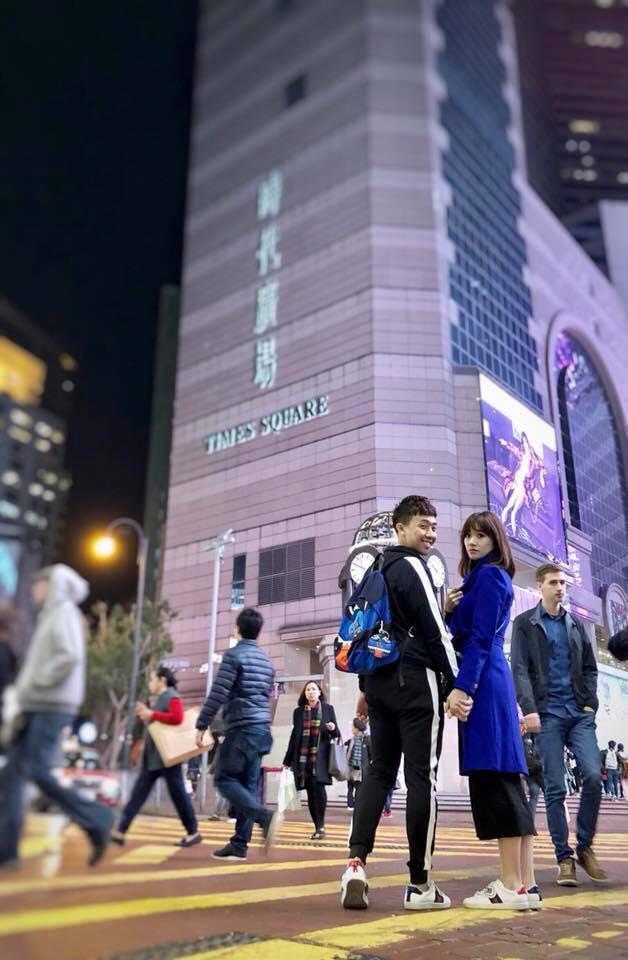 Tin sao Việt: Trấn Thành - Hari Won nắm chặt tay nhau du hí Hong Kong-1