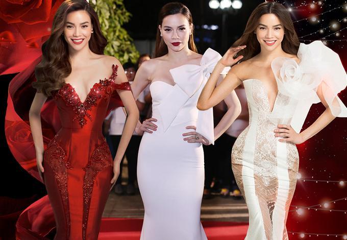 Top 5 nữ hoàng thảm đỏ showbiz Việt năm 2017-9