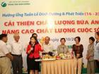 Nỗ lực ngăn chặn tình trạng thiếu i-ốt tại Việt Nam