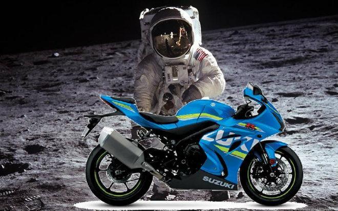 Suzuki sẽ đưa xe máy lên thành phố Mặt trăng đầu tiên?-1