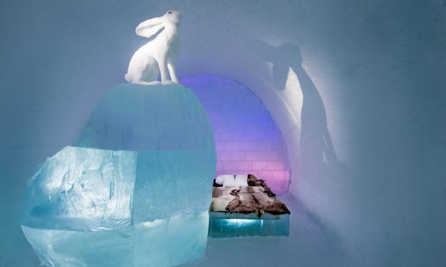 Lạnh tê tái trong khách sạn băng đẹp như ngoài hành tinh-2