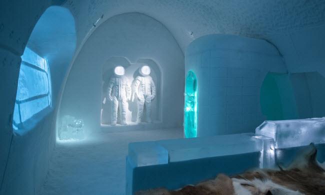 Lạnh tê tái trong khách sạn băng đẹp như ngoài hành tinh-4