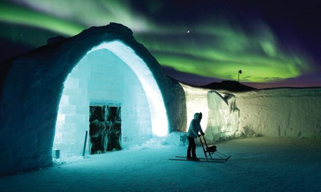 Lạnh tê tái trong khách sạn băng đẹp như ngoài hành tinh-8