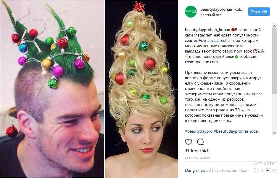 Hưởng ứng Giáng sinh, hoa hậu Kỳ Duyên biến hóa tóc theo trend cây thông Noel sành điệu-5