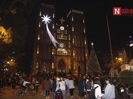 Nhà thờ lớn Hà Nội lung linh trước thềm Giáng sinh