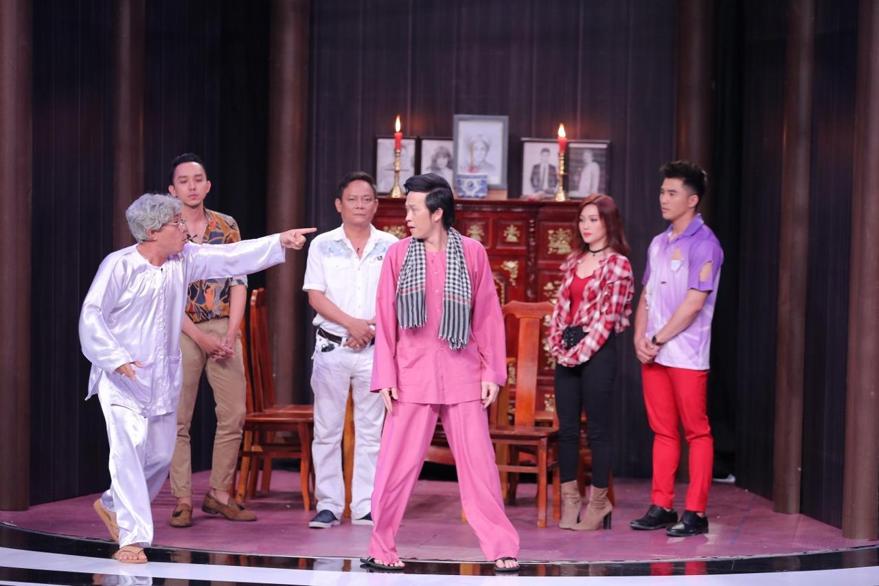 Gửi thông điệp về tai nạn giao thông, Trung Dân - Hoài Linh khiến khán giả bật khóc-2