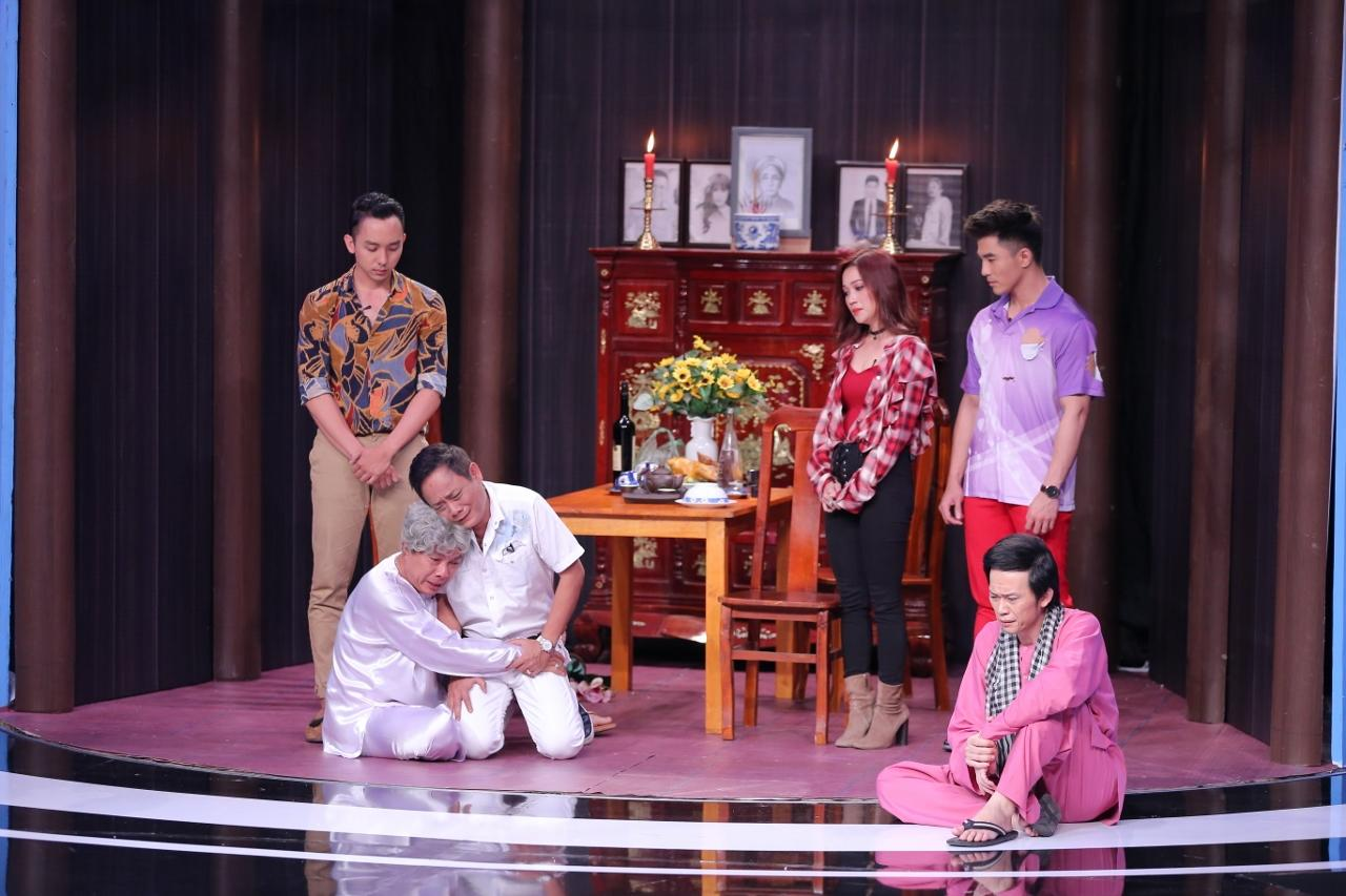Gửi thông điệp về tai nạn giao thông, Trung Dân - Hoài Linh khiến khán giả bật khóc-3