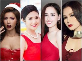 Khám phá những cách tận hưởng Giáng sinh 'cực chất' của dàn mỹ nhân Việt
