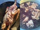 Bữa tiệc Giáng sinh của TRAI VỤNG: Lột da tùng xẻo vịt tan nát vì 'tưởng làm như gà'