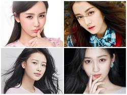 Bộ tứ mỹ nhân 9X 'quyền lực' nhất chiếm sóng màn ảnh Hoa ngữ 2017