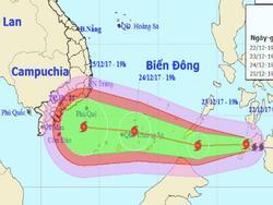 Từ chiều mai 25/12, hơn 2 triệu học sinh sinh viên TP HCM nghỉ học tránh bão Tembin