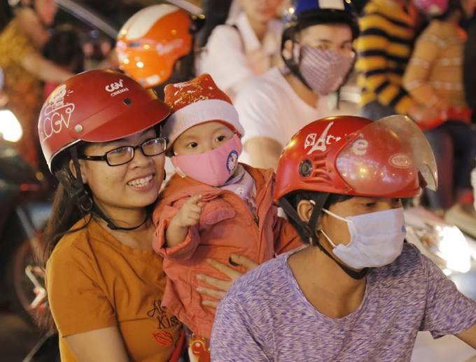 Đón Giáng sinh ở trung tâm Sài Gòn-3