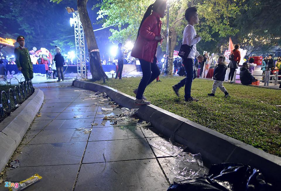 Trèo cây, giẫm đạp bồn hoa xem ca nhạc đêm Noel-11