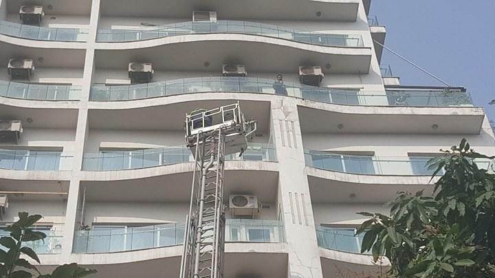 Hà Nội: Cháy tầng 25 tòa chung cư trên phố Hoàng Hoa Thám-3