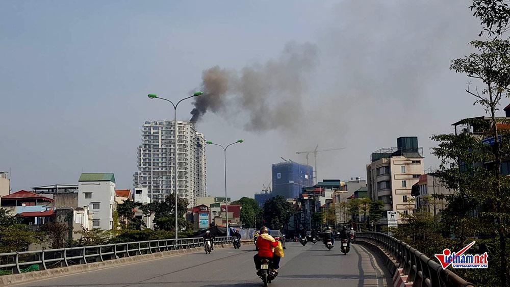 Hà Nội: Cháy tầng 25 tòa chung cư trên phố Hoàng Hoa Thám-7