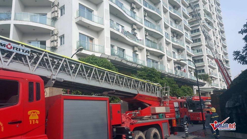 Hà Nội: Cháy tầng 25 tòa chung cư trên phố Hoàng Hoa Thám-10
